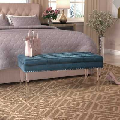 Rowles Upholstered Bench - Wayfair