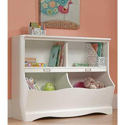 Pogo Soft White Twin Kids Footboard - Home Depot