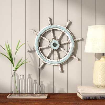 Mcgaughey Decorative Wood Ship Wheel - Birch Lane