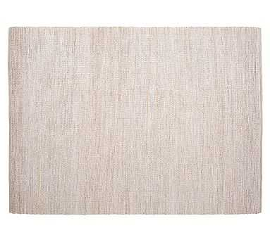 Heather Chenille Jute Rug, Gray - Pottery Barn