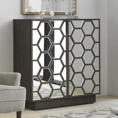 Honeycomb Bar Cabinet - Wayfair