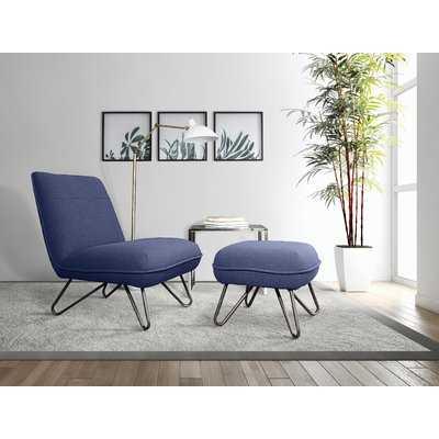 Galeana Lounge Chair and Ottoman - Wayfair