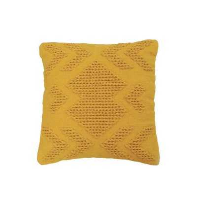 Westerly Hand Woven Cotton Throw Pillow - AllModern