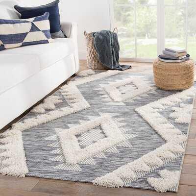 Vermehr Geometric Gray/Beige Indoor/Outdoor Area Rug - AllModern