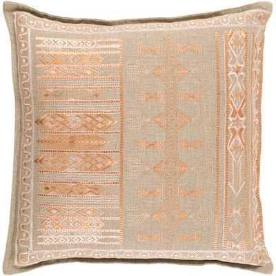 Elystan Poly Euro Pillow, Pink - Home Depot