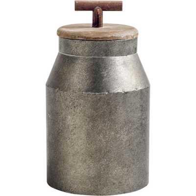 Mercana Oliphant II Decorative Object, Gray - Home Depot