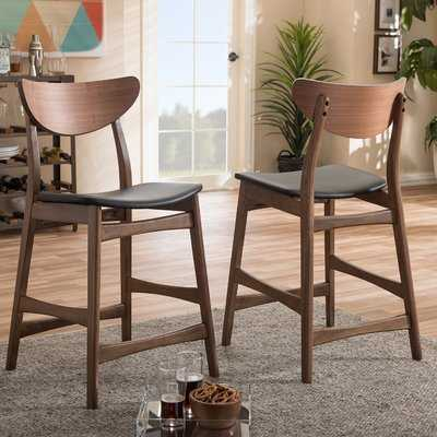"Birdwell 24"" Bar Stool - Wayfair"