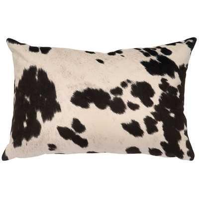 Chontel Faux Hair on Hide Lumbar Pillow - AllModern