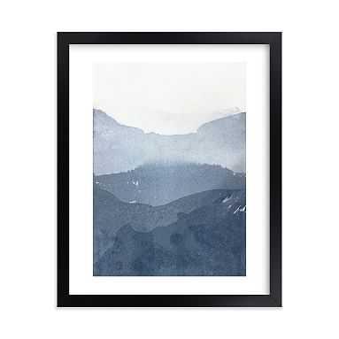 "Sacred Beginning No. 1 Framed Art by Minted(R), 8""x10"", Black - Pottery Barn Teen"