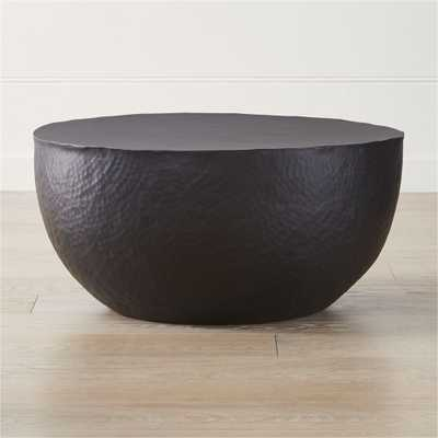 Fernando Metal Drum Coffee Table - Crate and Barrel