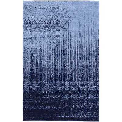 Dorfman Abstract Blue Area Rug - AllModern