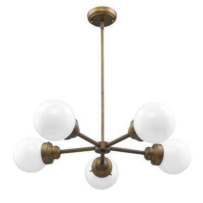Rabehi 5-Light Sputnik Chandelier - Wayfair