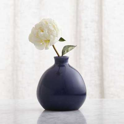 Mireya Blue Vase - Crate and Barrel