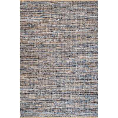 Cape Elizabeth Handmade Flatweave Blue Area Rug - Wayfair