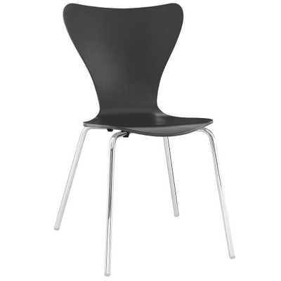 Ernie Black Dining Side Chair - Home Depot