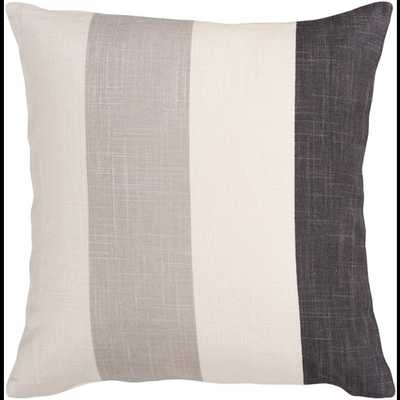 Simple Stripe : JS-011 - 18 x 18 with Polyester - Neva Home