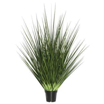 Artificial Potted Extra Full Floor Foliage Grass in Pot - Wayfair