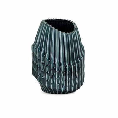 IMAX Sophia Small Vase, Green - Home Depot