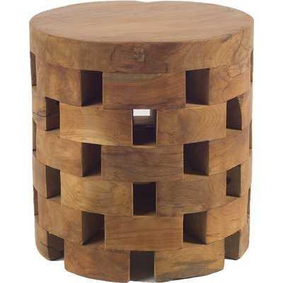 Welsh Drum End Table - Wayfair