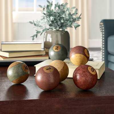 Frodsham Antiqued Billiard Balls, set of 6 - Wayfair
