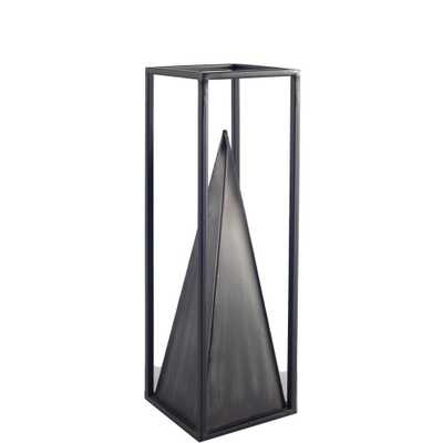 Mercana Memphis II (Medium) Decorative Object, Black - Home Depot