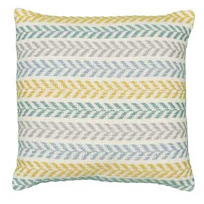 Galilea Cotton Chevron Throw Pillow - Birch Lane