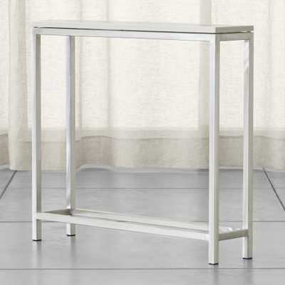 Era Limestone Console Table - Crate and Barrel