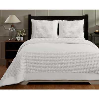 Olivia Ivory Queen Comforter - Home Depot