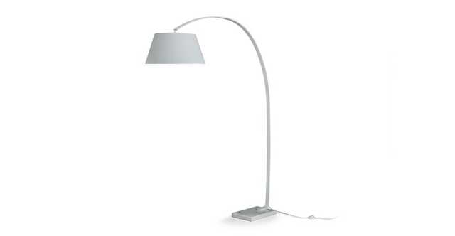 Willo White Floor Lamp - Article