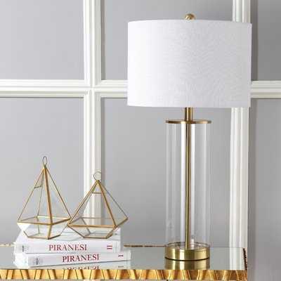 """Cothran Glass 29.25"""" Table Lamp - Birch Lane"""