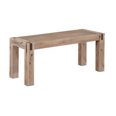 Henry Solid Wood Bench - Wayfair