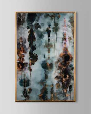 """Aqueous Gold II"""" Wall Art"""" - Horchow"""