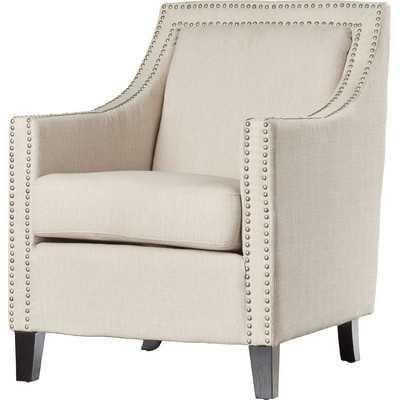 Shepler Armchair, Beige - Wayfair