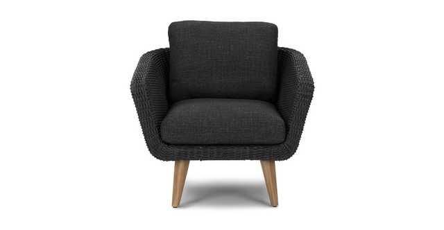 Ora Slate Gray Lounge Chair - Article