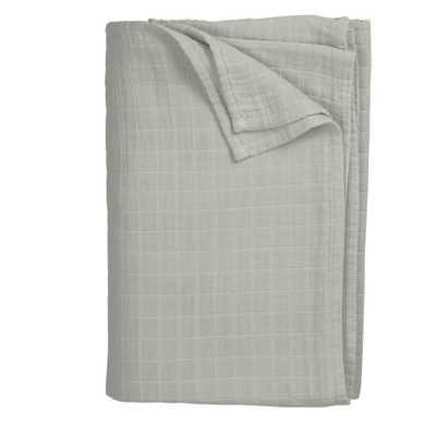 Gossamer Gray King Blanket - Home Depot