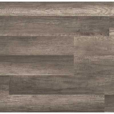 TrafficMASTER Grey Oak 7 mm Thick x 8.03 in. Wide x 47.64 in. Length Laminate Flooring (23.91 sq. ft. / case), Gray Color/Textured Finish - Home Depot