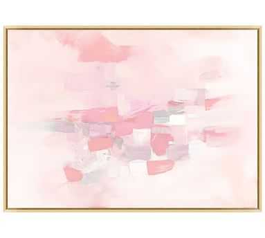 "Pink Cloud Canvas, 43.25 x 31.25"" - Pottery Barn"