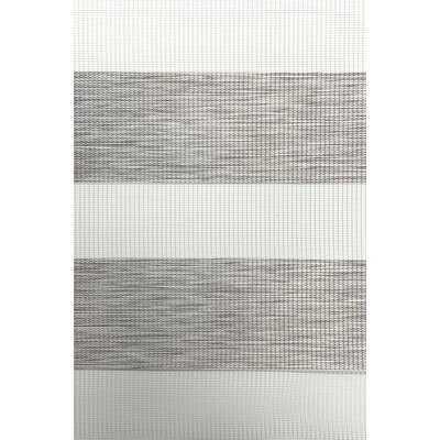 "Wood Look Zebra Shade Sheer Roller Shade 24""W x 72""L - Wayfair"