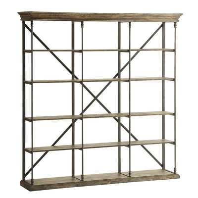 Mabie Large Etagere Bookcase - Wayfair
