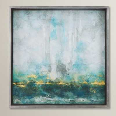 Abstract Art Framed Painting Print - Wayfair