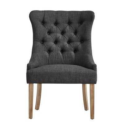 Kyzer Distressed Tufted Side Chair - Wayfair