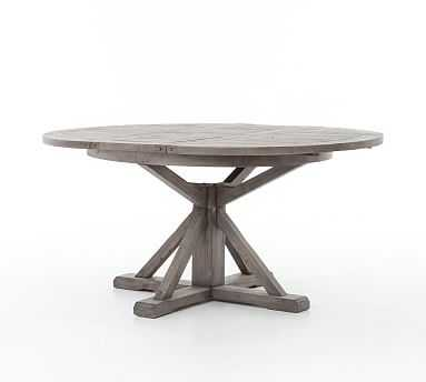 "Hart Extending Dining Table, Black Olive, 63"" - 71"" L - Pottery Barn"