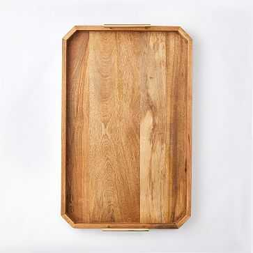 "Deco Handle Large Tray, 18""x28"" - West Elm"