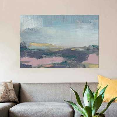 'Pretty Horizon I' Print on Canvas - Wayfair