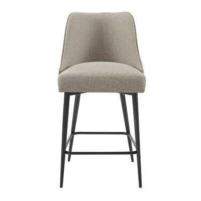 Nivens Counter Chair Khaki - (Set of 2) - Wayfair
