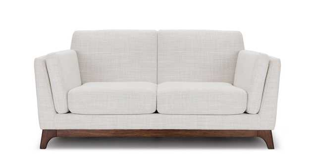 Ceni Fresh White Loveseat - Article