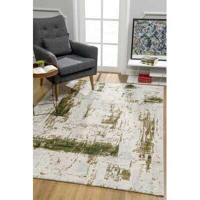 Alexzander Soft Green Area Rug 8' x 10' - Wayfair