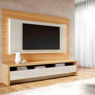 """Makiver Floating Entertainment Center for TVs up to 60"""" - Wayfair"""