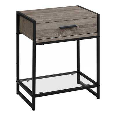 Hammons End Table with Storage - Wayfair