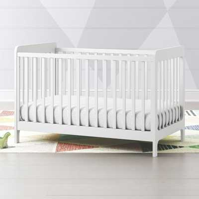 Carousel White Crib - Crate and Barrel